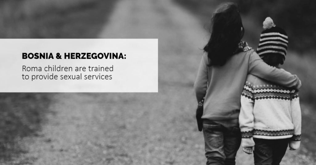 Bosnia and Herzegovina - Roma children - trafficking