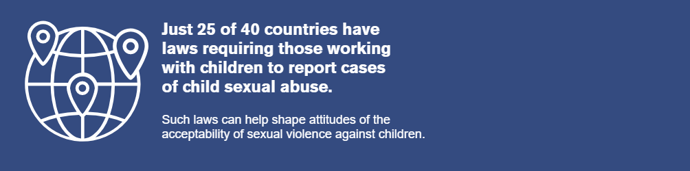 Out of the shadows child sexual abuse ECPAT
