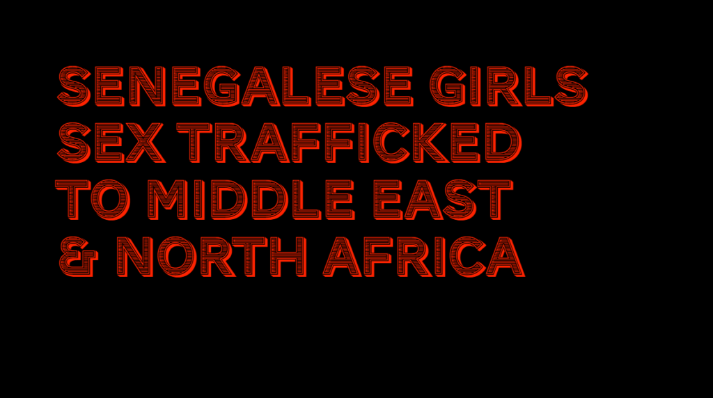 Senegal girls trafficked ECPAT report