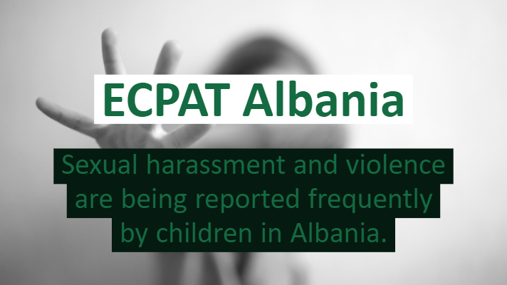 ECPAT Albania New law to report sexual harassment to authorities