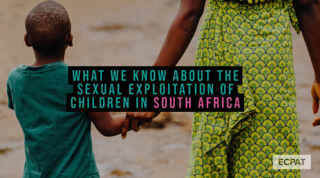 South Africa- Sexual exploitation children